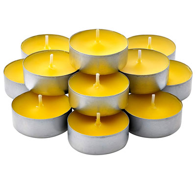 Bulk Citronella Scented Tealight Candles