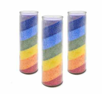 Colored Magic Church Candles