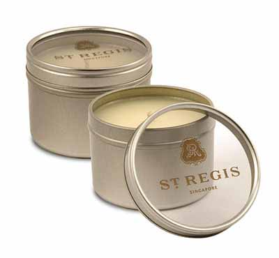 Deep And Shallow Window Round Tin Candles