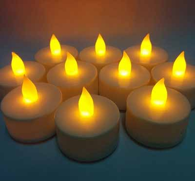 Remote Cheap Led Flameless Tealight Candles With Timer