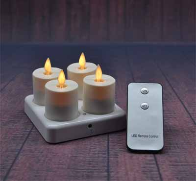 Led Flickering Tea Lights Battery Operated Candles