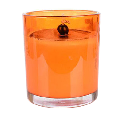 Hot Sale Tropical Style Aromatherapy Colored Glass Jar Soy Wax Candles