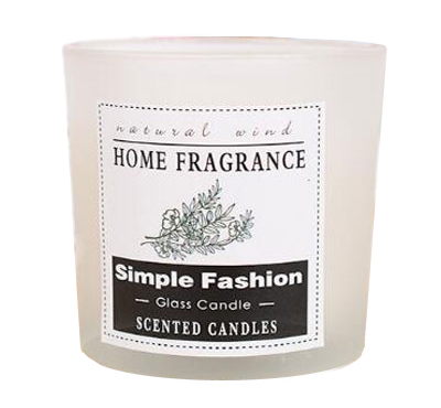 New Type SPA Flameless Aroma Soy Wax Glass Jar Candle Gift Box
