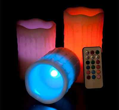 Color Changing Flameless Led Candles