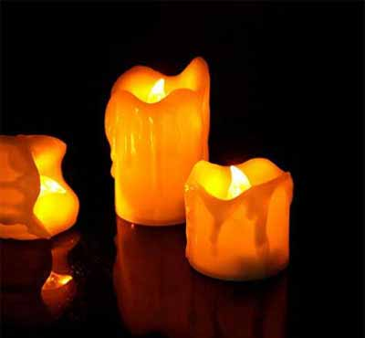 Drop Battery Tea Candle Battery Tealight Candle