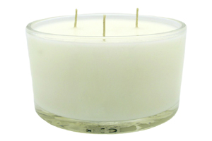 How to burn 3 wick glass jar candles?