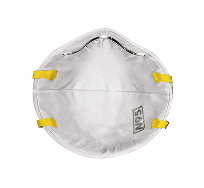 Safety N95 NIOSH Flat Fold Disposable Earloop Face Mask