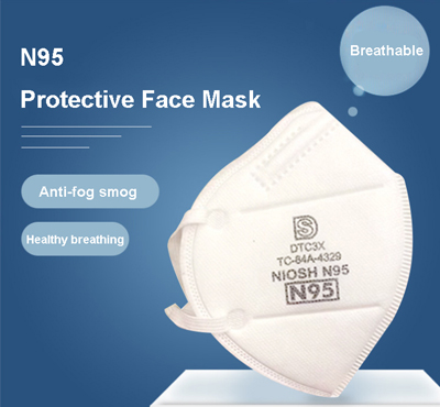 Face mask anti-virus N95, KN95 FFP2 with CE FDA certification