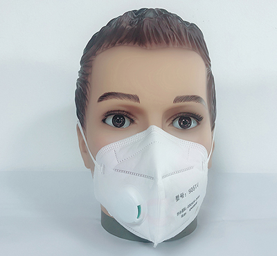 Disposable Air Pollution Foldable NIOSH N95 Face Dust Mask with Valve