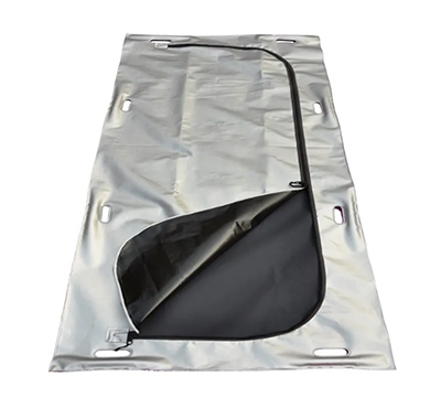 Heavy Duty Disposable Mortuary Corpse Bag Waterproof Sealed Funeral Burial PVC Cadaver Dead Body Bag