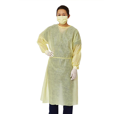 Disposable Protective Isolation Gown SMS Waterproof Body Guard Clothes