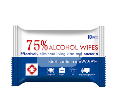 75% Alcohol Wipes Portable Hand Towel Swabs Pads Disinfection Wipes Outdoor Cleaning Sterilization Wipes Paper