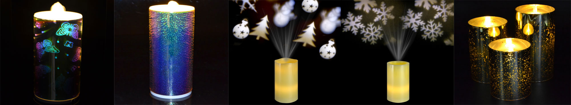 fountain flameless led candles