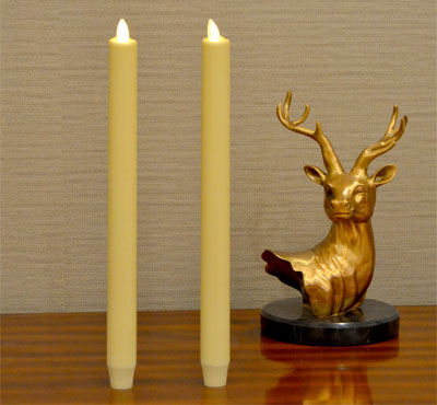 battery operated taper candles, flameless taper candles